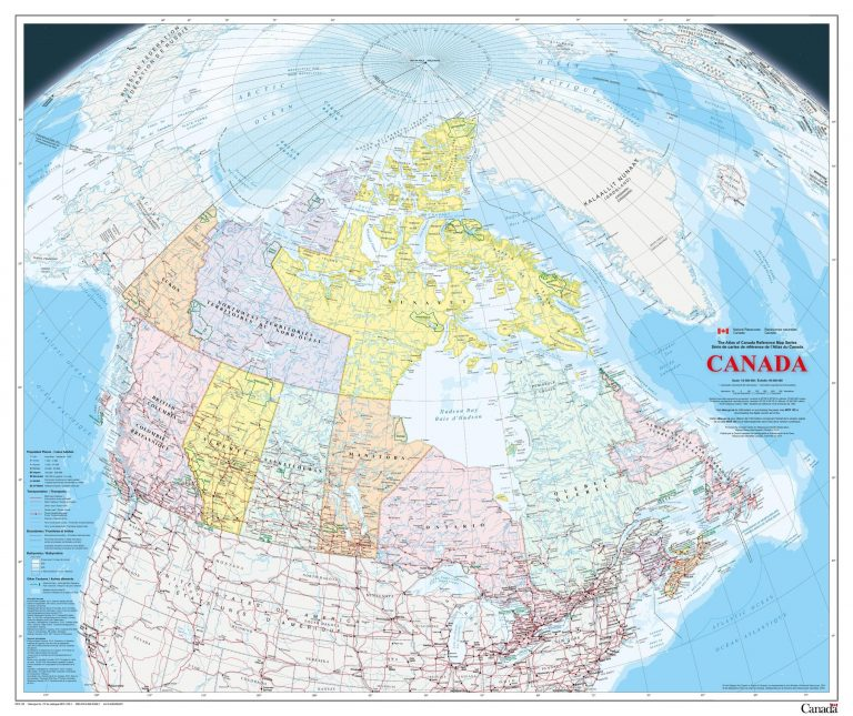 How Maps helped in discovering Canada
