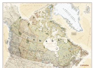 National Mapping Agencies In Canada
