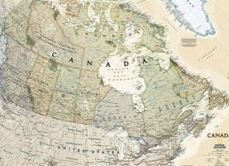 Map Of Canada History.Canada Facts Archives Maptrove