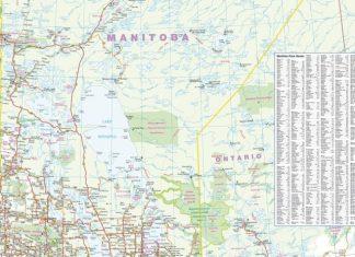 manitoba-wall-map