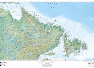 newfoundland-and-labrador-map