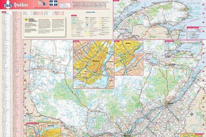 Quebec Maps