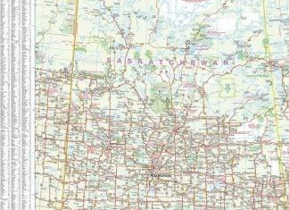 saskatchewan-wall-map