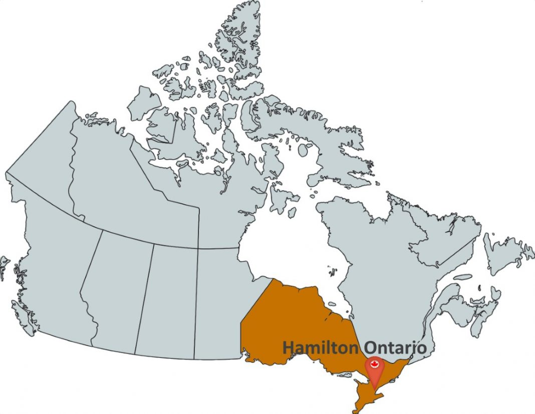Where is Hamilton Ontario?