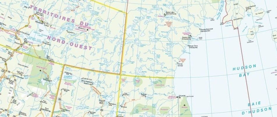 French Map Of Canada.French Canada Maps Maptrove