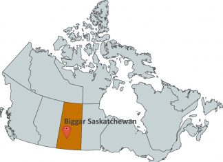 Where is Biggar Saskatchewan?