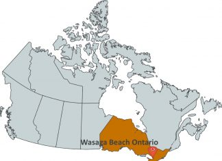 Where is Wasaga Beach Ontario?