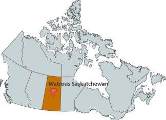 Where is Watrous Saskatchewan?