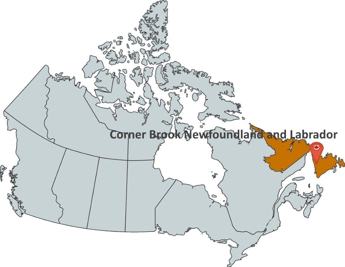 Map Of Corner Brook Newfoundland Canada Where is Corner Brook Newfoundland and Labrador?   MapTrove