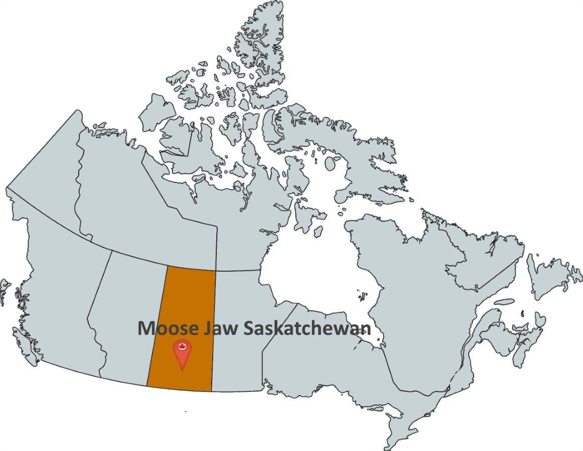 Moosejaw Canada Map Where is Moose Jaw Saskatchewan?   MapTrove