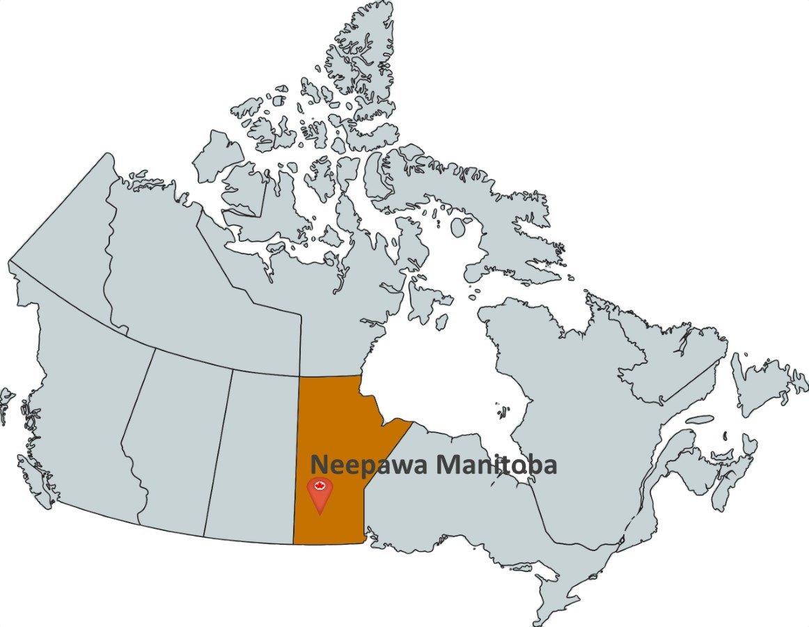 Map Of Neepawa Manitoba Canada Where is Neepawa Manitoba?   MapTrove