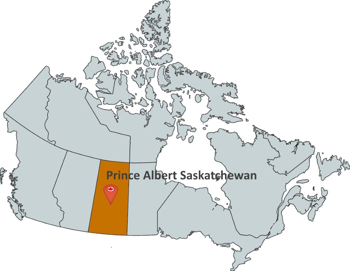 Prince Albert Map Where is Prince Albert Saskatchewan?   MapTrove