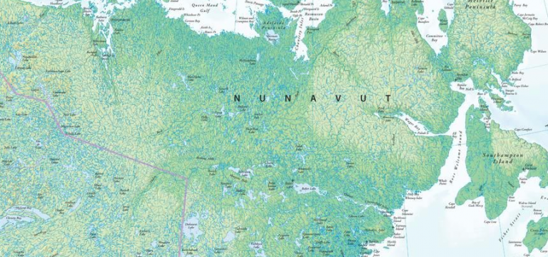 Nunavut Maps