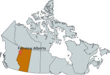 Where is Fairview Alberta?