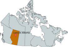 Where is Lamont Alberta?