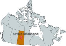 Where is Lanigan Saskatchewan?