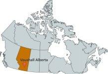 Where is Vauxhall Alberta?