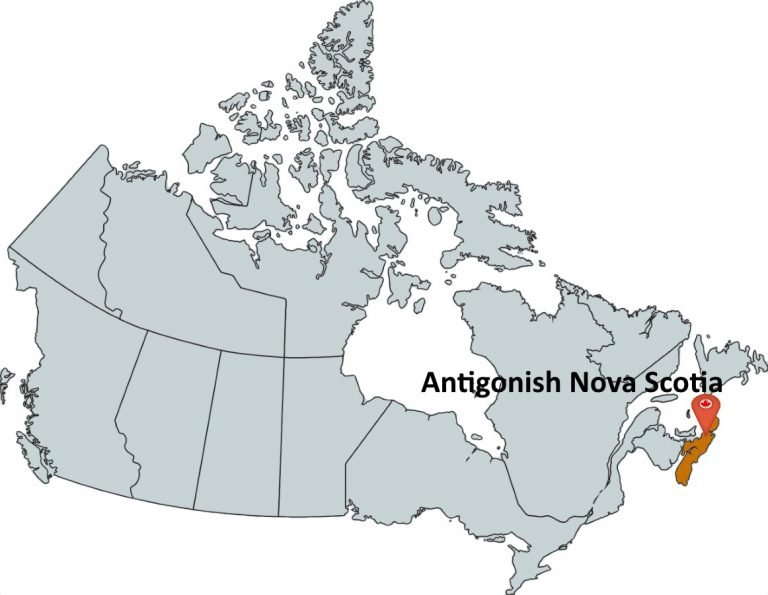 Where is Antigonish Nova Scotia?