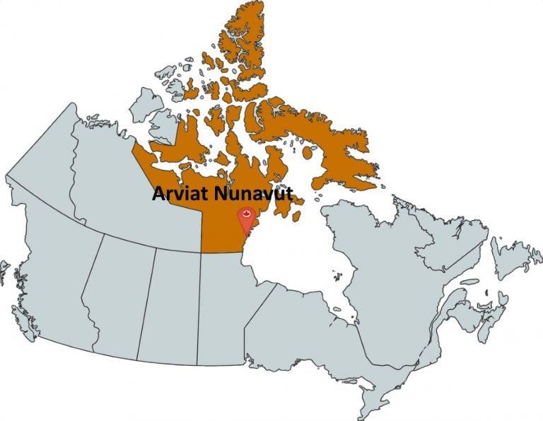Where is Arviat Nunavut?