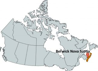 Where is Berwick Nova Scotia?