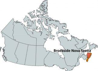 Where is Brookside Nova Scotia?
