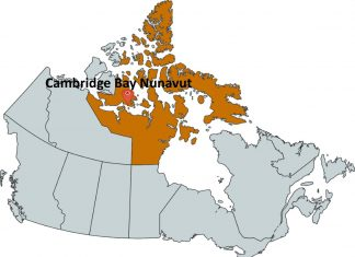 Where is Cambridge Bay Nunavut?