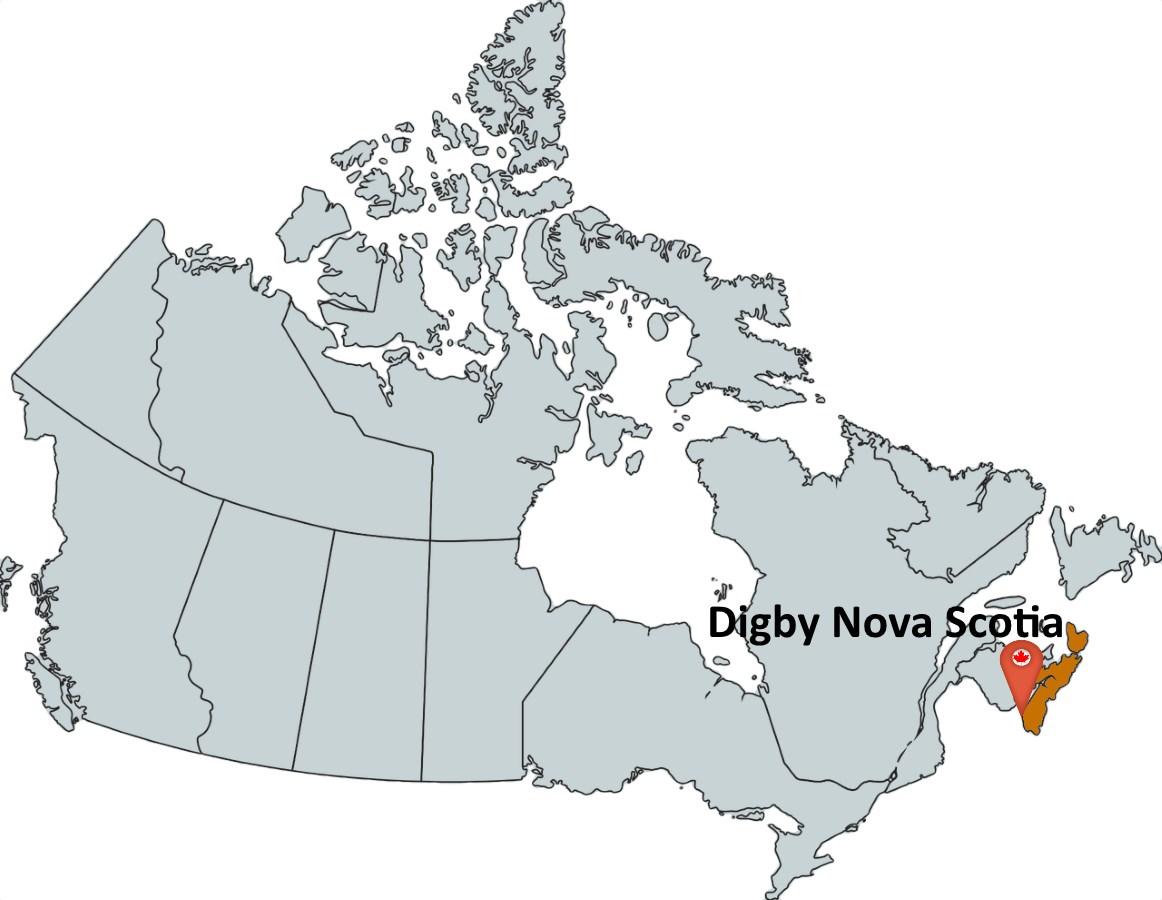 Map Of Digby Nova Scotia Canada Where is Digby Nova Scotia?   MapTrove