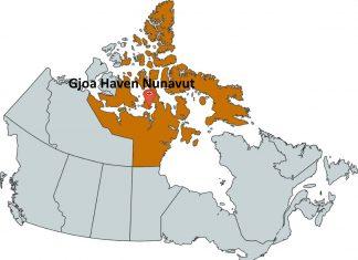 Where is Gjoa Haven Nunavut?