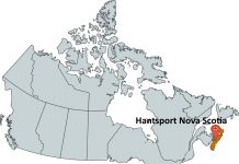 Where is Hantsport Nova Scotia?