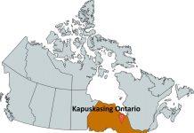 Where is Kapuskasing Ontario?