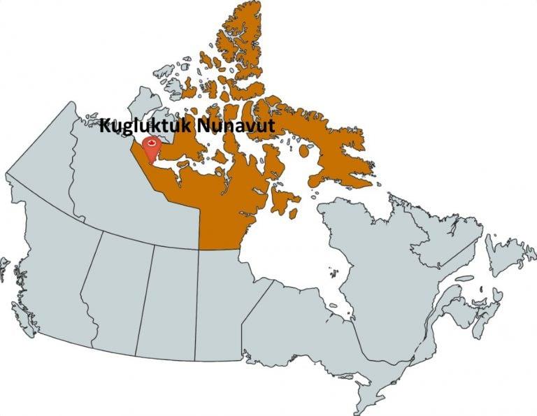 Where is Kugluktuk Nunavut?
