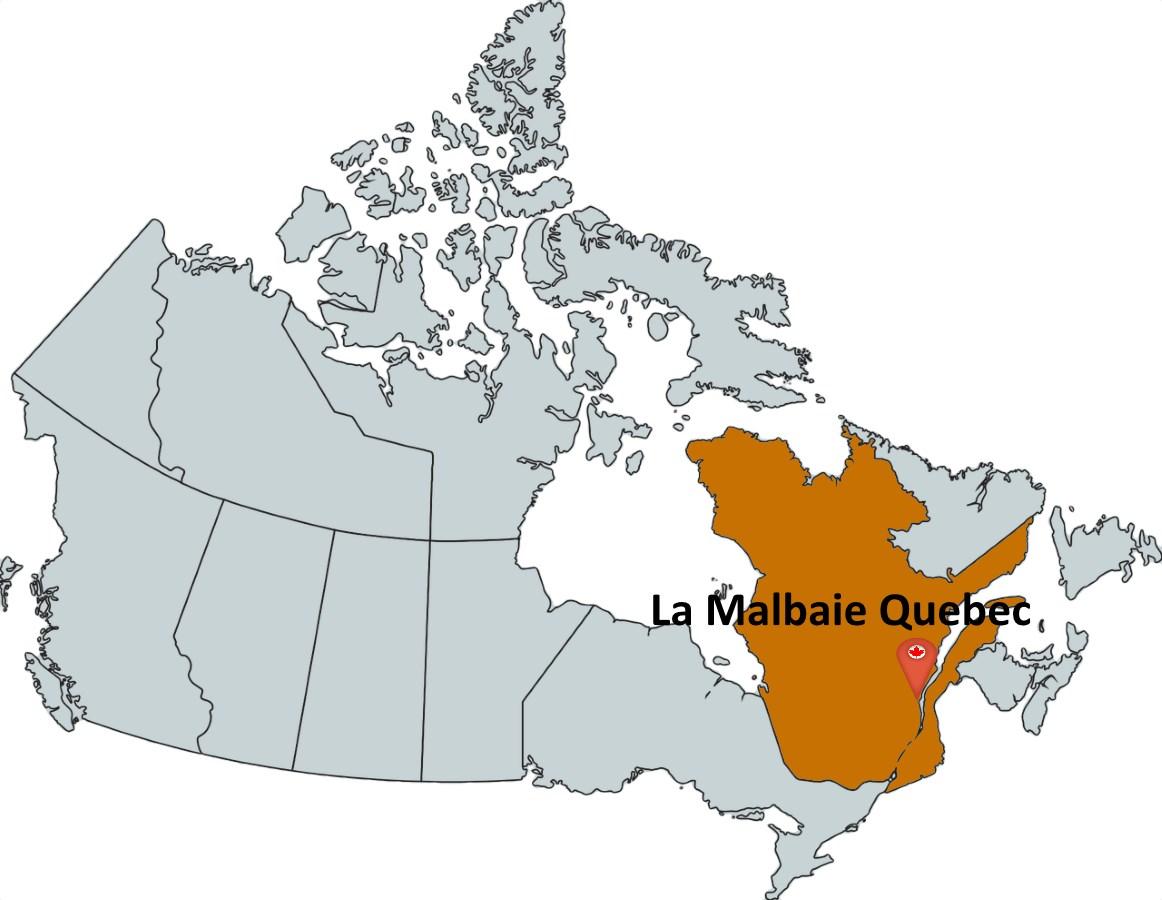 Map La Malbaie Canada Where is La Malbaie Quebec?   MapTrove