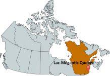 Where is Lac-Mégantic Quebec?