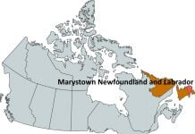Where is Marystown Newfoundland and Labrador?