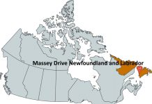 Where is Massey Drive Newfoundland and Labrador?