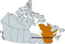 Where is Ormstown Quebec?