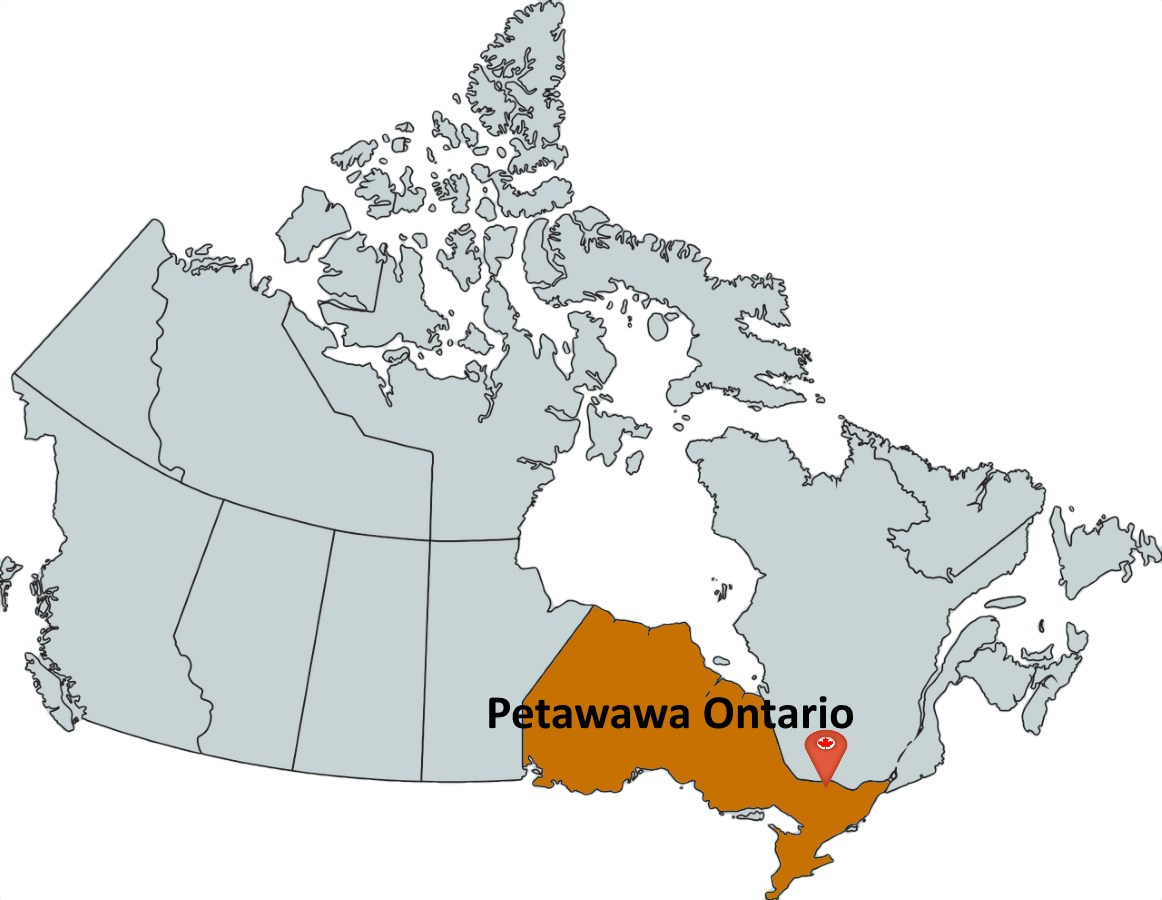 Map Of Petawawa Ontario Canada Where is Petawawa Ontario?   MapTrove