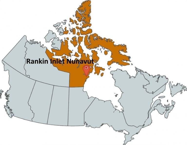 Where is Rankin Inlet Nunavut?