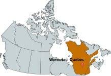 Where is Wemotaci Quebec?