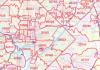 US ZIP Code Map
