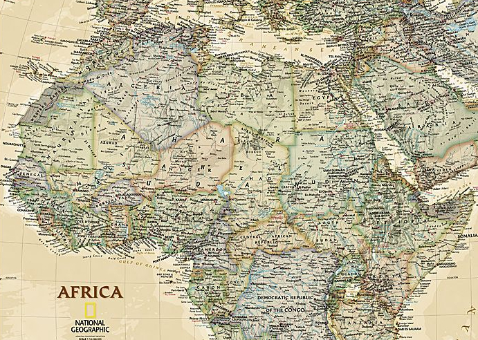 A Treasure Trove Of African Country Maps - MapTrove