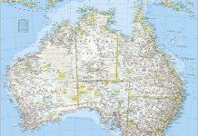 Maps of Australia States