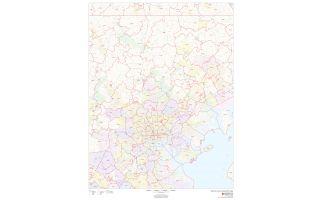 Baltimore County ZIP Code Map, Maryland