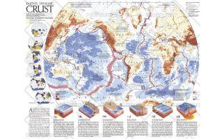 Earths Dynamic Crust  -  Published 1985