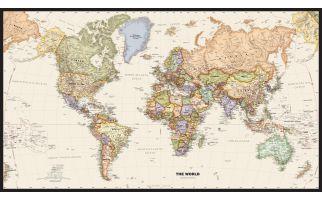 Legacy World Wall Map