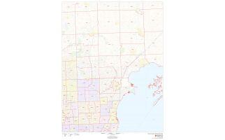 Macomb County ZIP Code Map, Michigan
