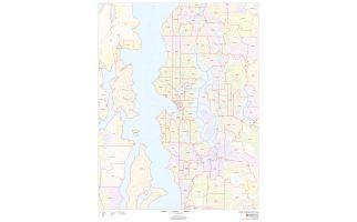Seattle Zip Codes Map, Washington ZIP Codes