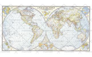 World Map - Published 1941