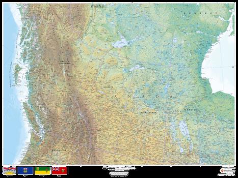 Western Canada Map