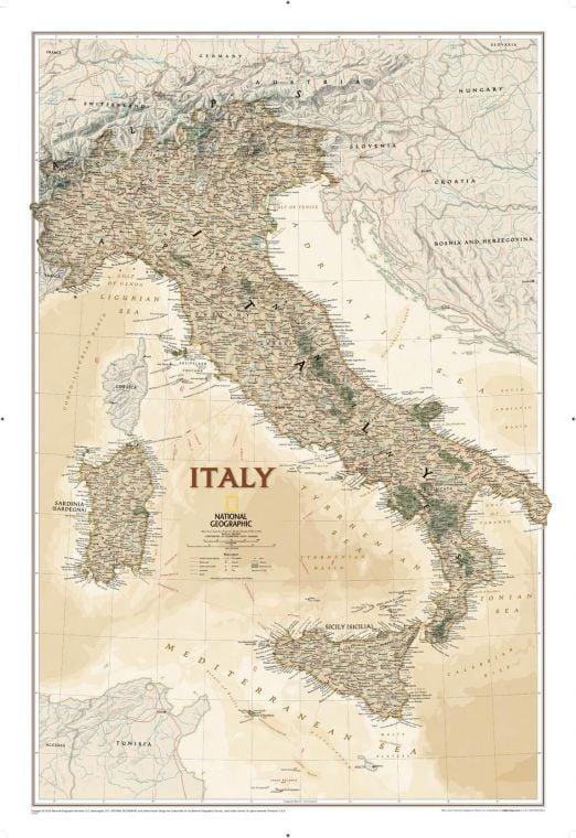 Italy Executive Map